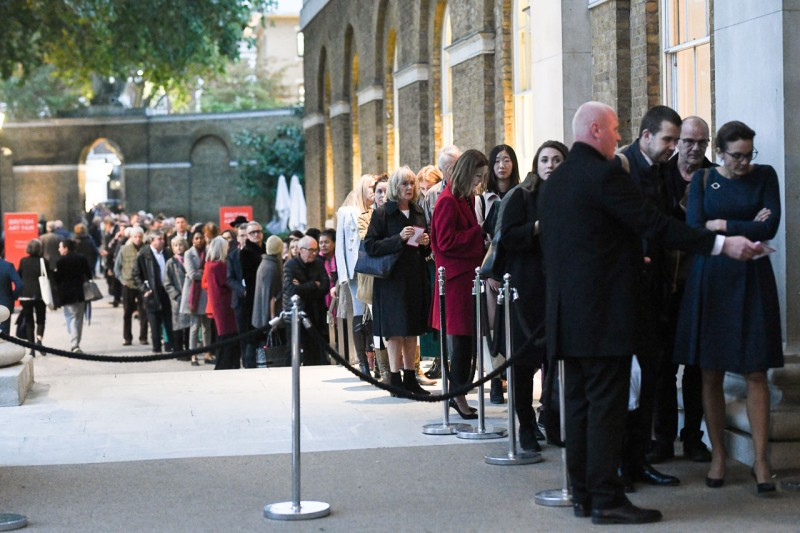 Sales, tickets up at British Art Fair