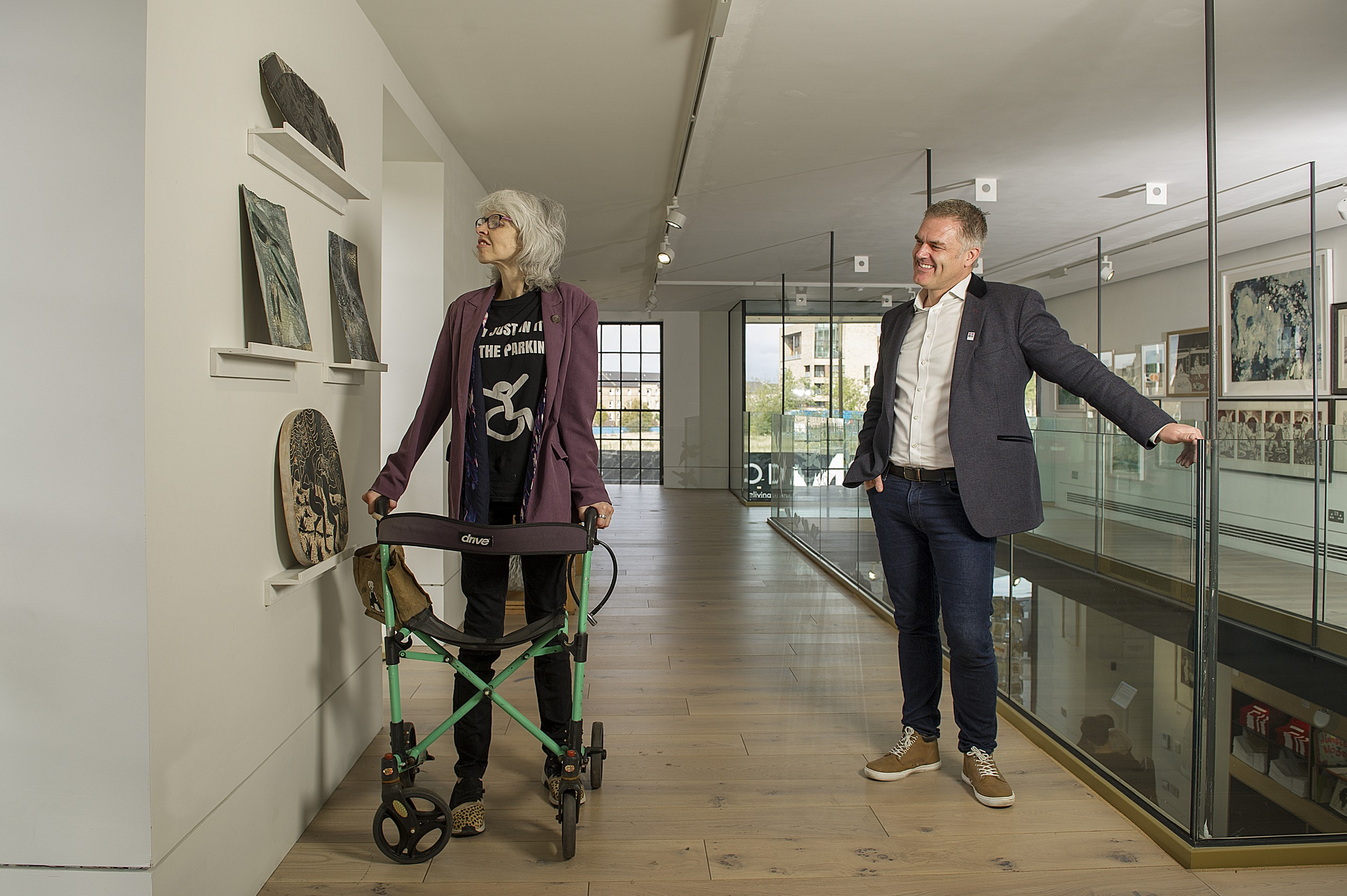 App opens Edinburgh gallery to disabled art lovers