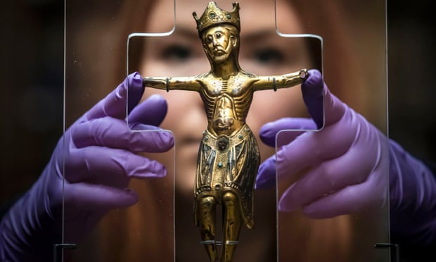 800-year-old copper Christ returns to York