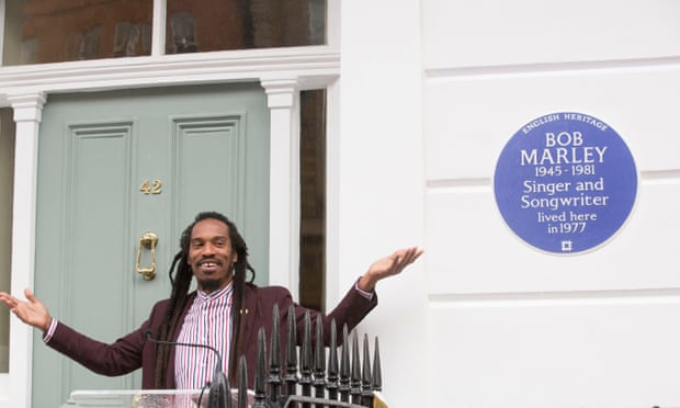 Bob Marley gets blue plaque