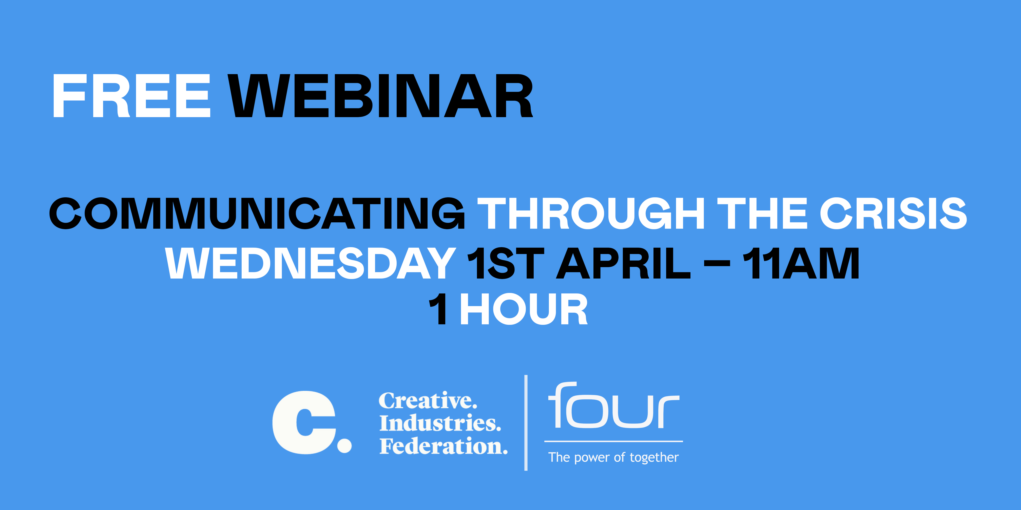 Free arts webinar on how to survive the crisis
