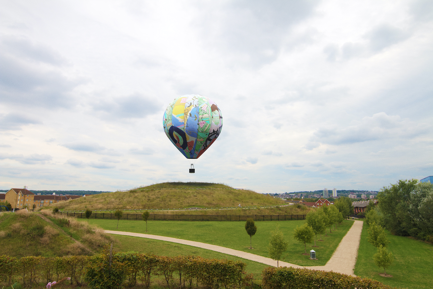 Balloon chosen to tell Thamesmead's cultural story