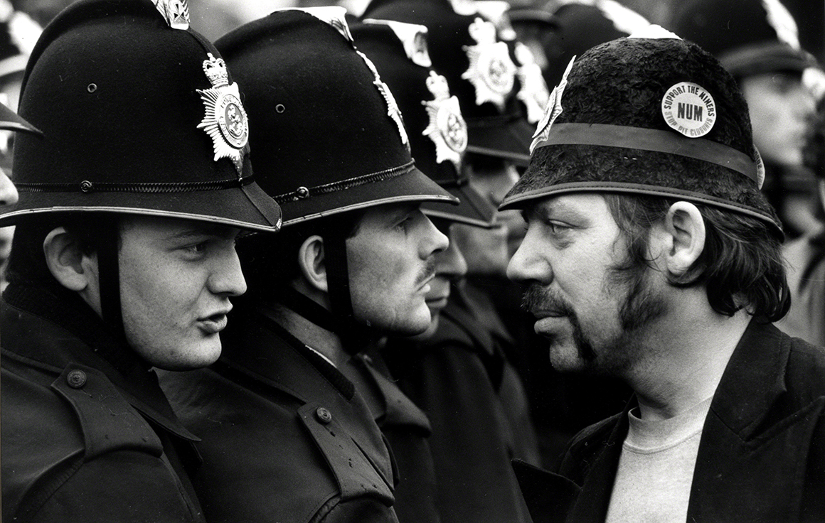 McPhee's unforgettable Orgreave images
