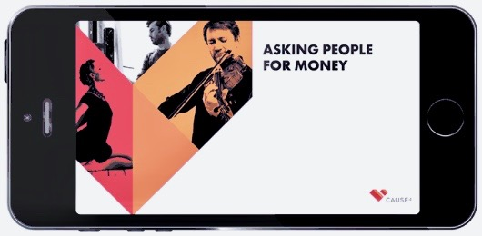 Teaching the arts to ask for money